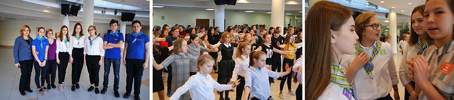 На Белозерской устроили танцевальный флешмоб