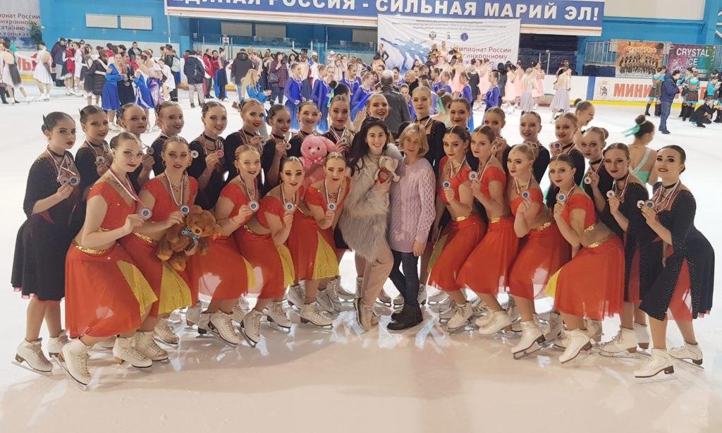 Спортсменки из училища на Коненкова выступят на чемпионате мира по синхронному катанию на коньках