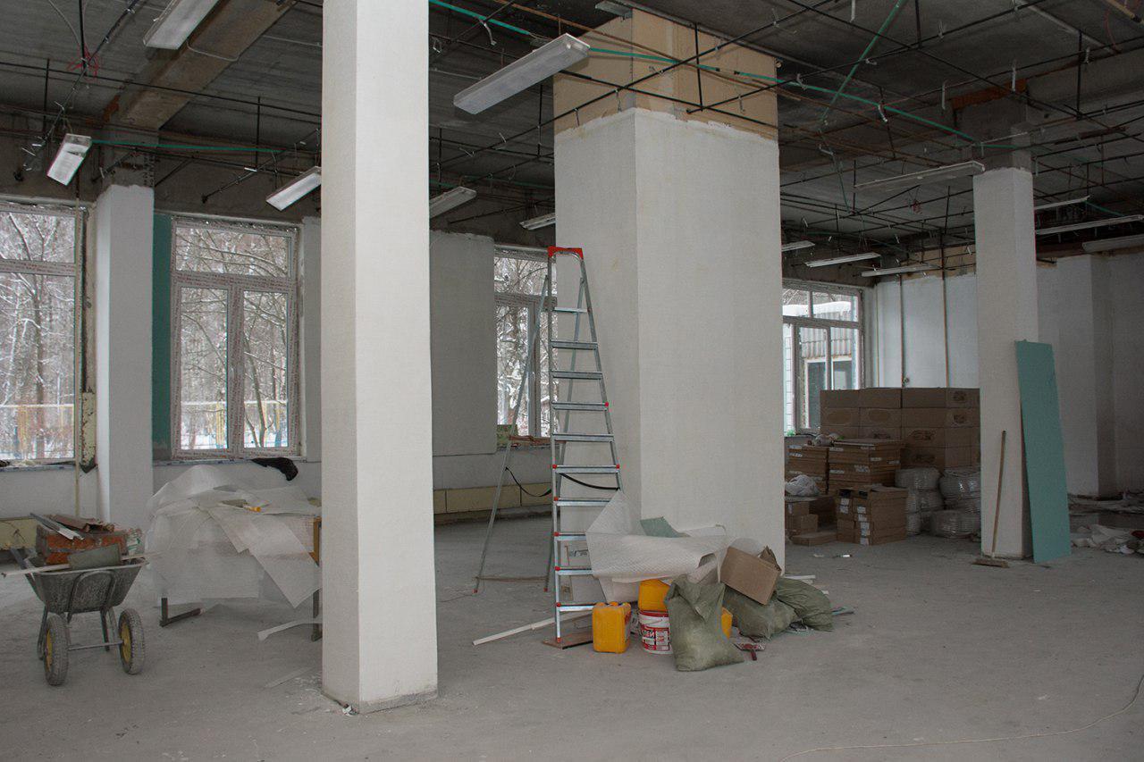 Балетная студия и театральный зал появятся после ремонта в библиотеке №49 Бибирева