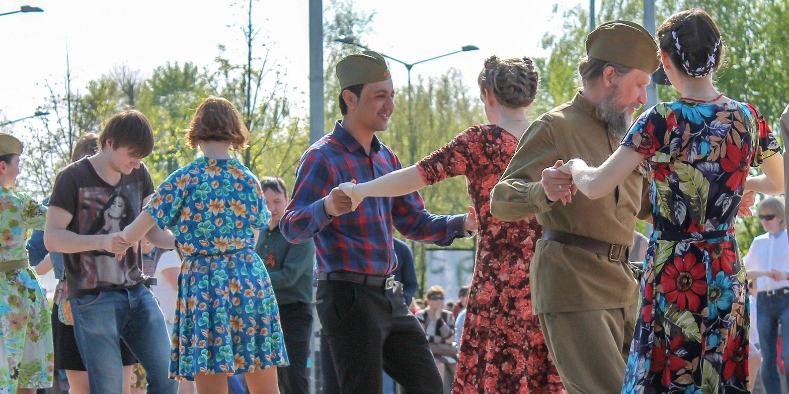 Танцевальный флешмоб «Бал Победы» запланирован в Останкине