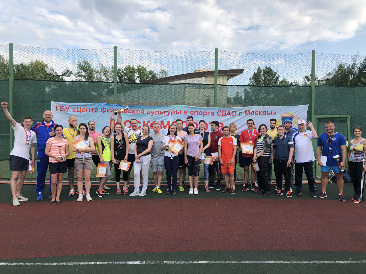 Госслужащие из Бибирева взяли бронзу на соревнованиях по легкой атлетике