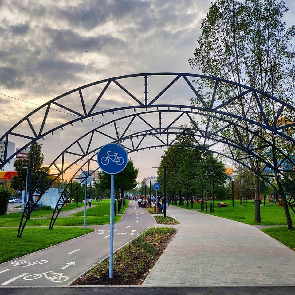 Благоустроенный в Бибиреве парк света торжественно откроют 23 августа