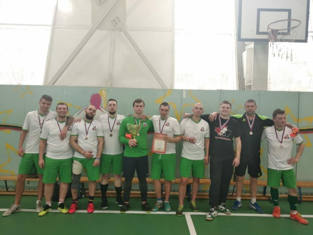 Футболисты из Бибирева стали бронзовыми призерами Кубка префекта