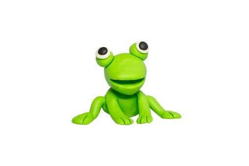 В Бибиреве из пластилина слепили лягушку